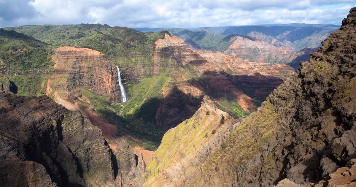 Kauai Canyon Grand Canyon Hawaii