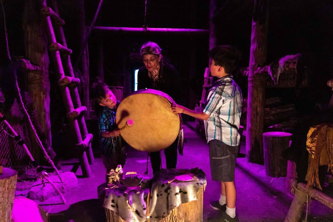 Indigenous Experiences In Quebec Wendake Long House Storytelling