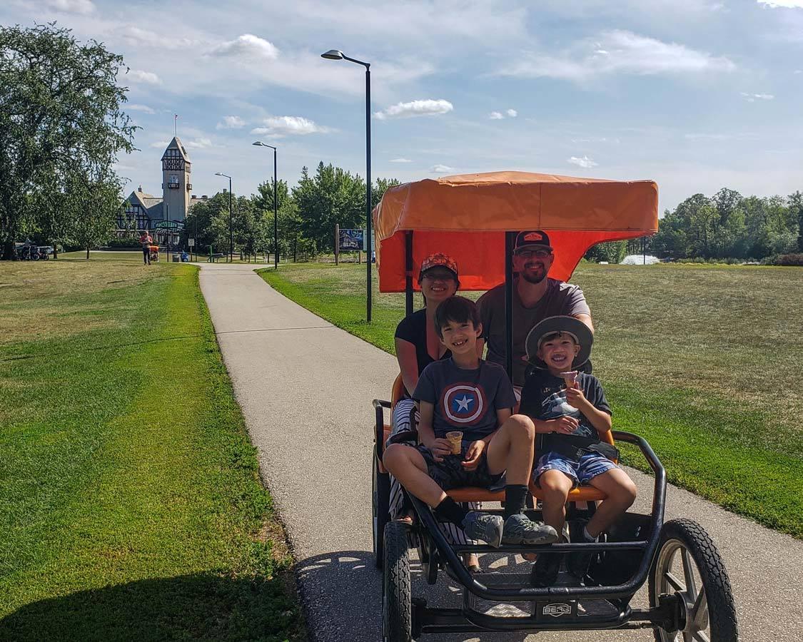 Assiniboine Park Bike Rental Fun Things To Do In Winnipeg Manitoba