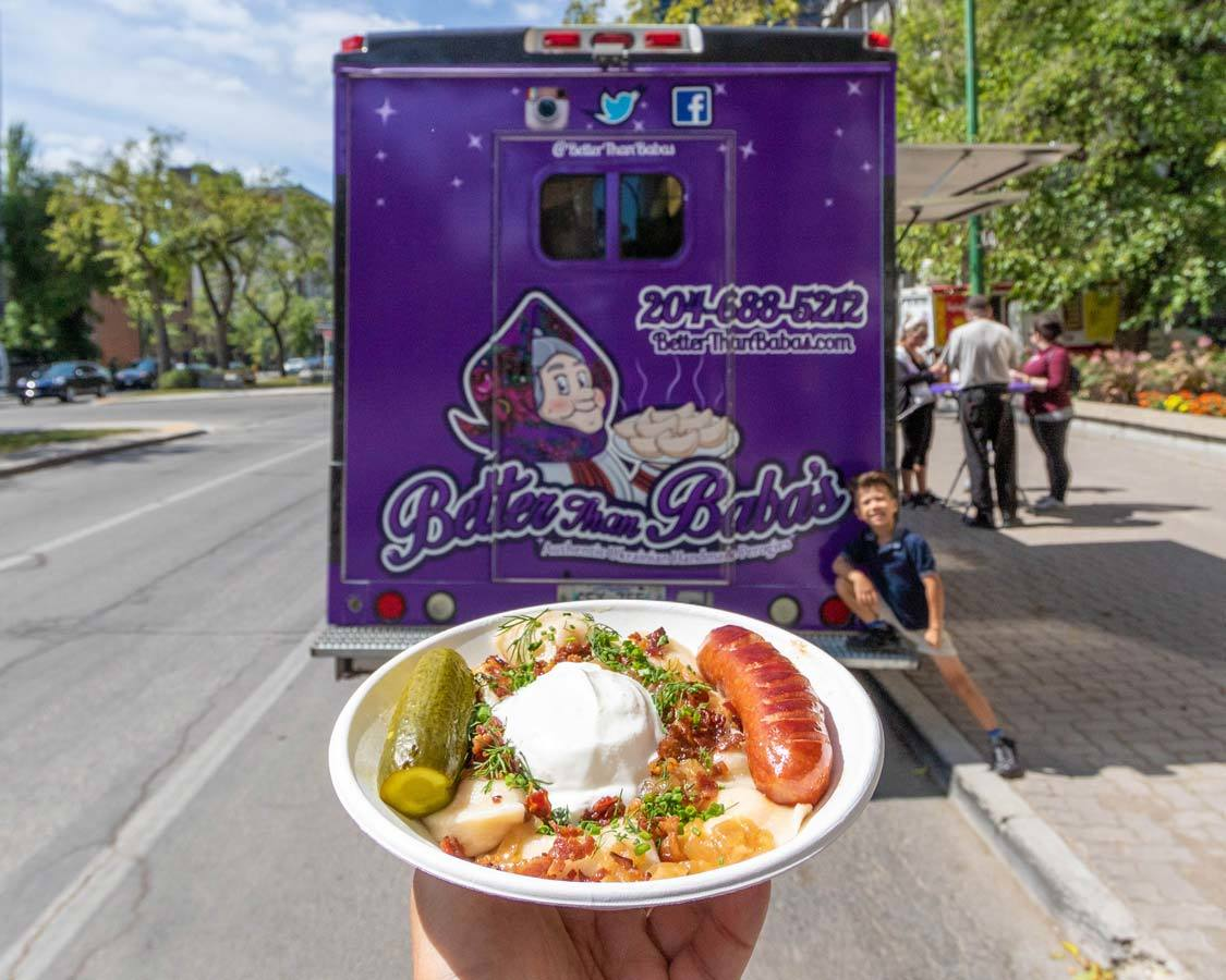 Better than Babas Food Trucks on Broadway Winnipeg Where To Eat