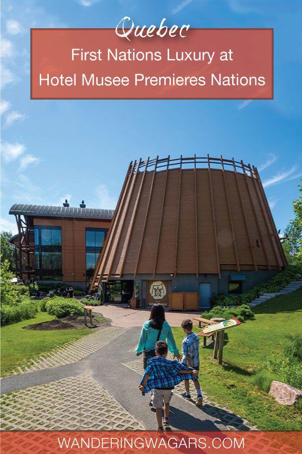Wendake hotel Musee Premieres Nations