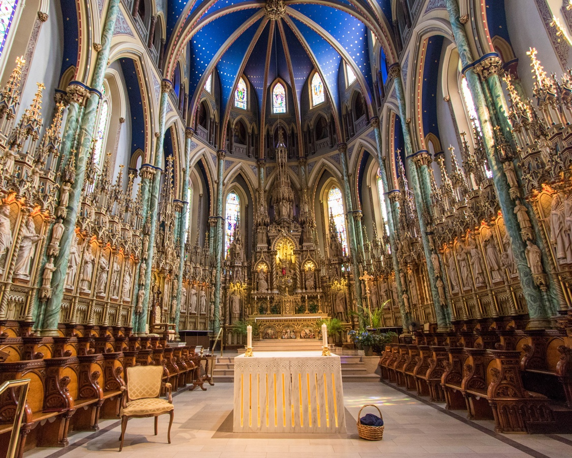 Things to do in Ottawa with Kids Notre Dame Cathedral