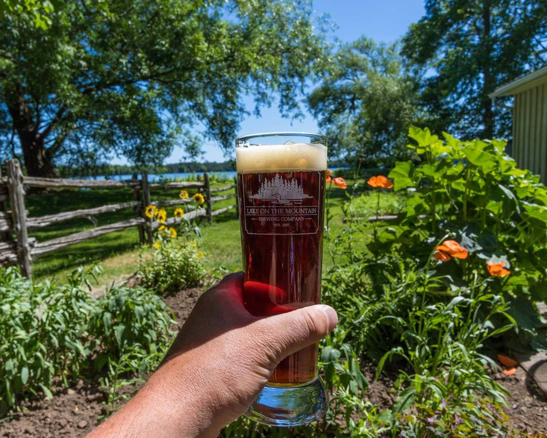 Things to do near Sandbanks Provincial Park Lake on the Mountain brewery