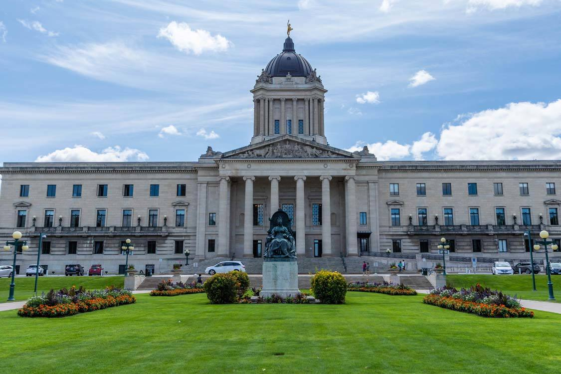 Winnipeg Legislative Assembly Hermetic Code Tour