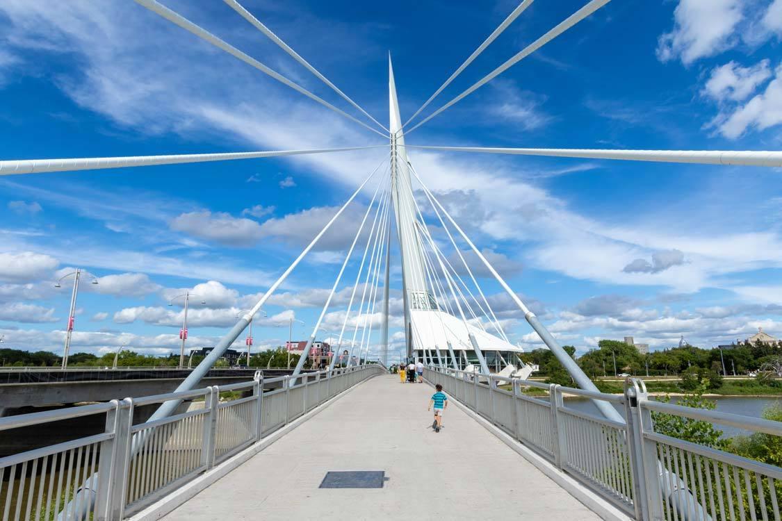 Esplanade Riel The Forks Winnipeg
