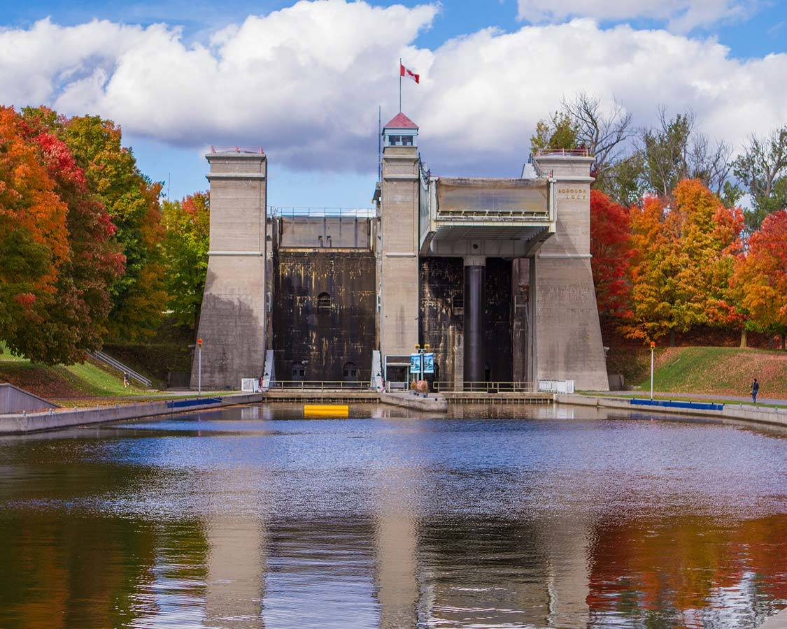 Fall colours in Peterborough and the Kawarthas