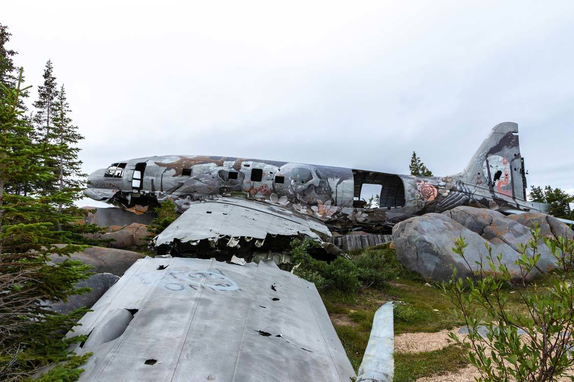 Miss Piggy Plane Wreck in Churchill Guide