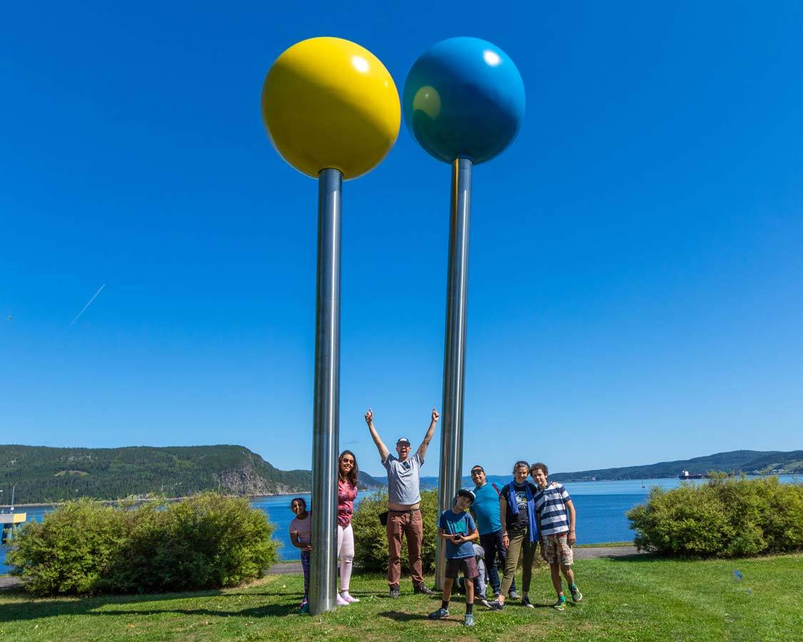 Family travel in Saguenay-Lac-St-Jean