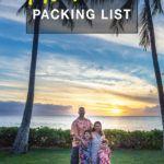 Hawaii Packing Guide