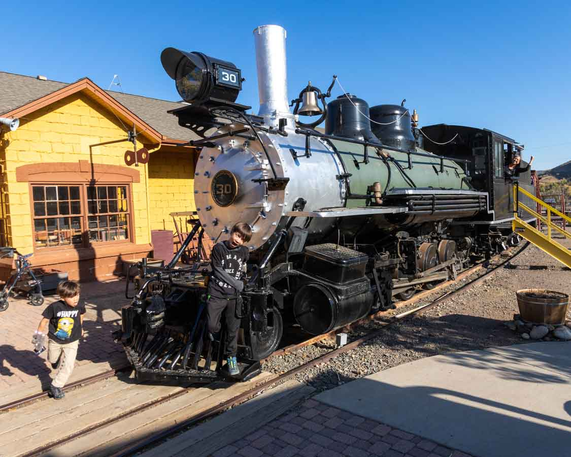 Colorado Things To Do For Families Railroad Museum