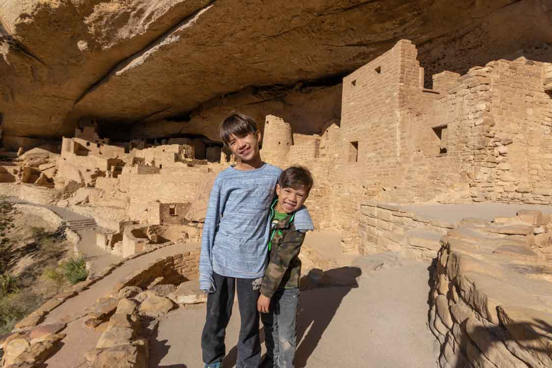 Things to do in Colorado with kids Mesa Verde Cliff Dwellings
