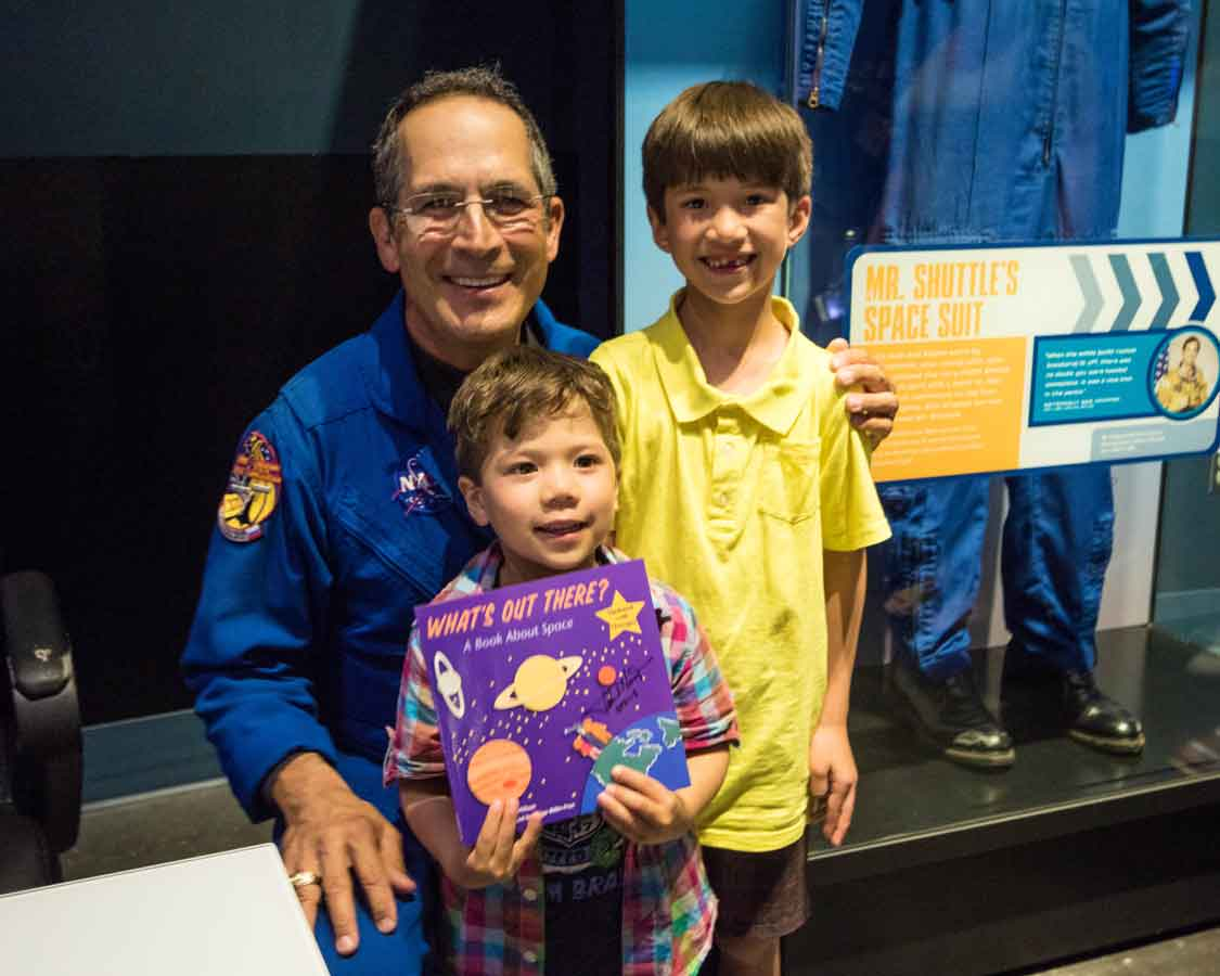Meet An Astronaut at Kennedy Space Center for families