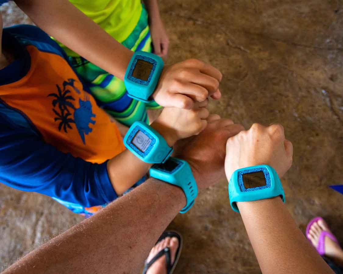 Volcano Bay TapuTapu wristbands