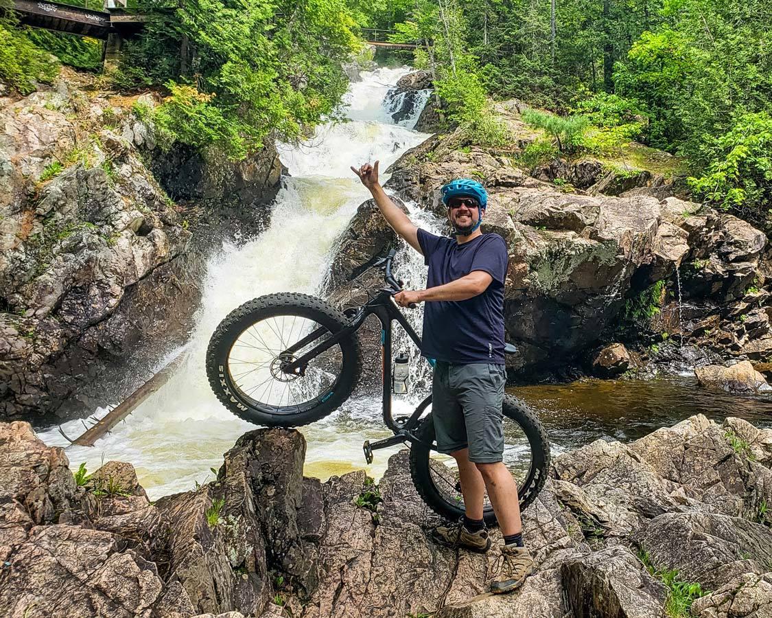 Wandering Wagars Mountain Biking in Sault Ste Marie Ontario