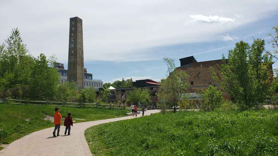 Wandering Wagars at Evergreen Brickworks Toronto