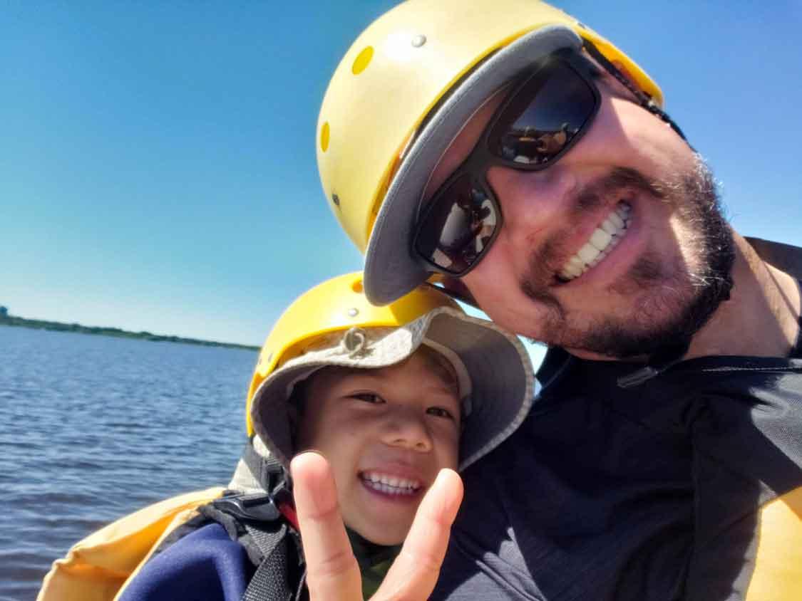 Wandering Wagars at Ottawa City Rafting