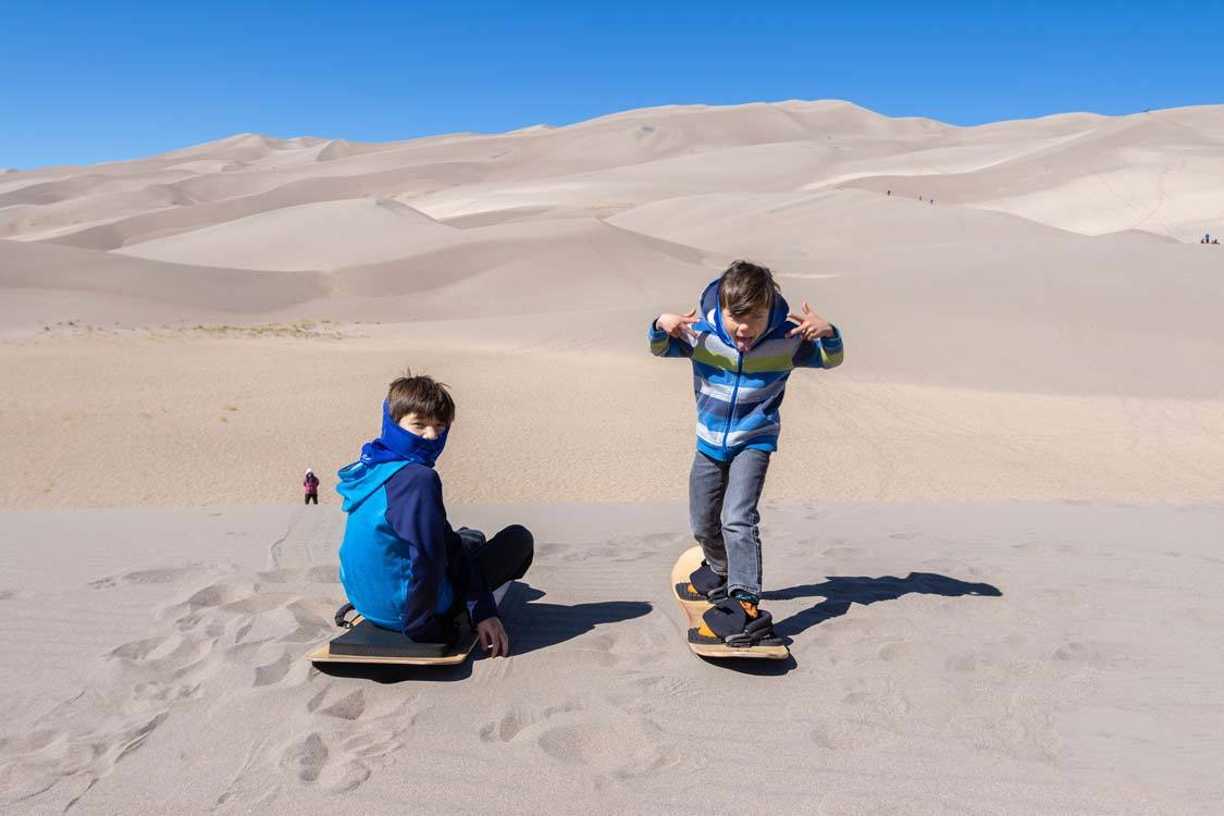 Wandering Wagars in Great Sand Dunes National Park