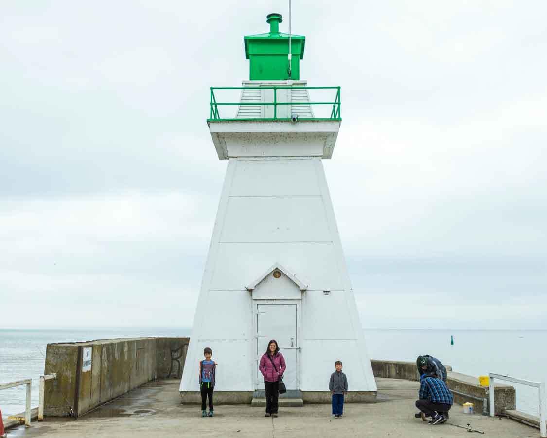 Wandering Wagars in Port Dover Ontario
