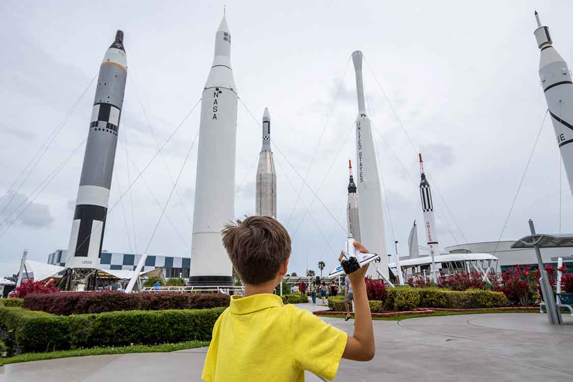 What to do at Kennedy Space Center For Kids