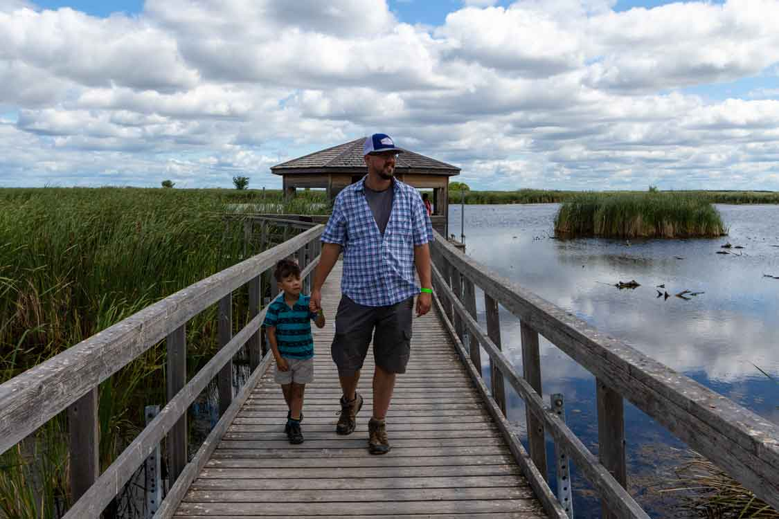 What to do in Manitoba with kids Oak Hammock Marsh