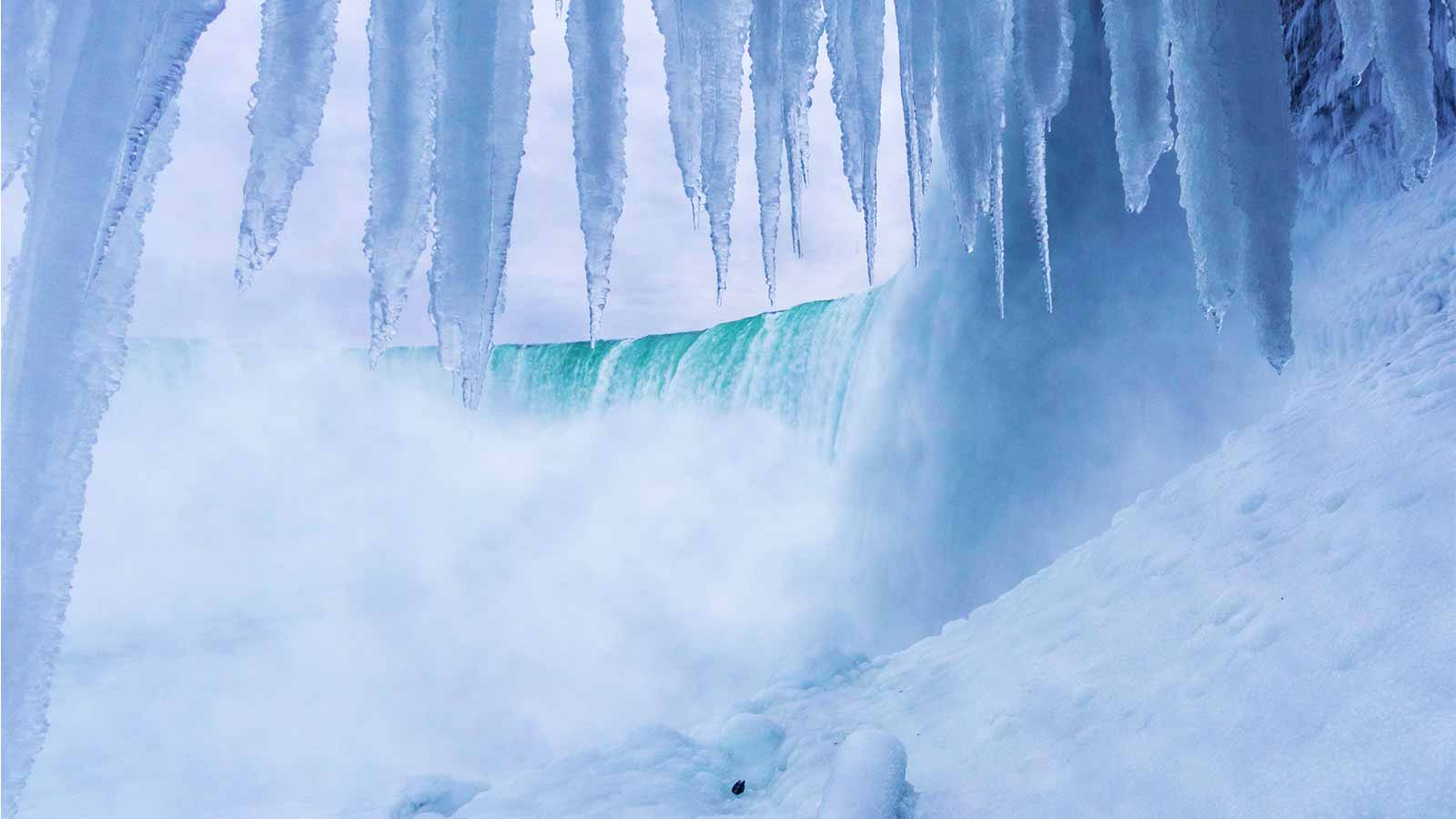 Winter In Niagara Falls Journey Behind The Falls