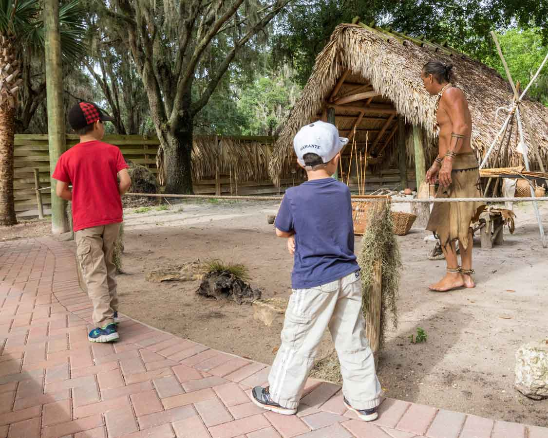 Boggy Creek Native American Village