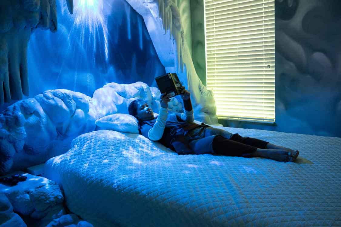 Frozen themed Airbnb in Orlando