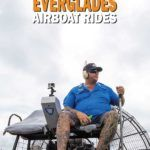 Airboat captain running an Everglades tour