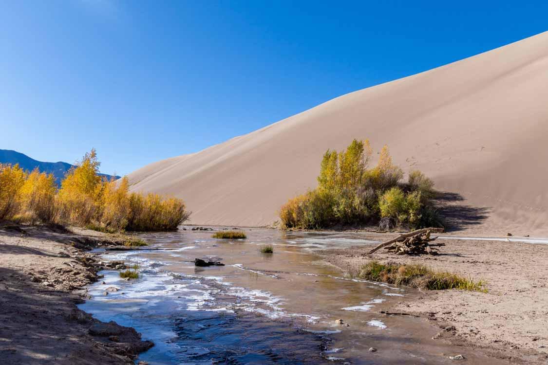 Medano Creek Colorado National Parks