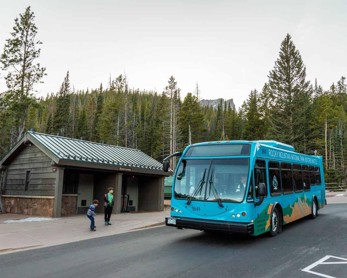 Rocky Mountain National Park Shuttle