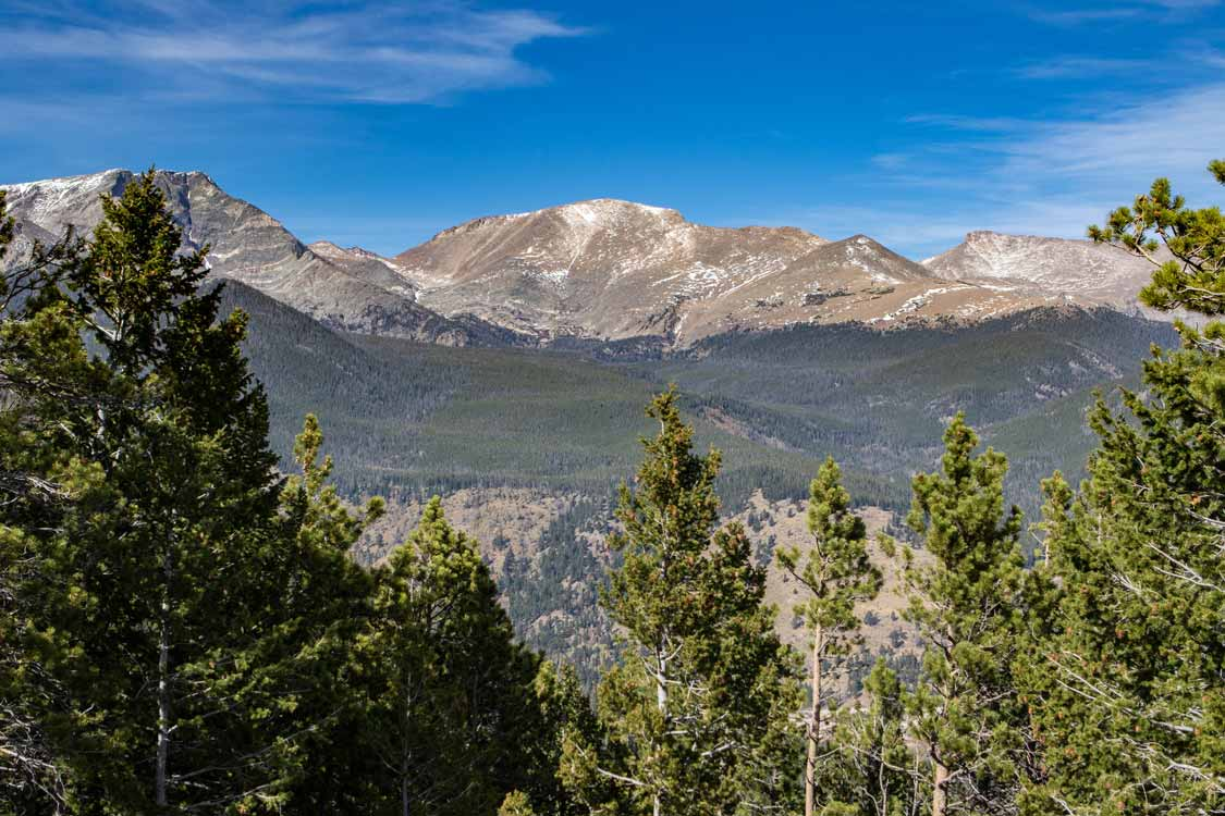 Views from Trail Ridge Road at Rocky Mountain National Park