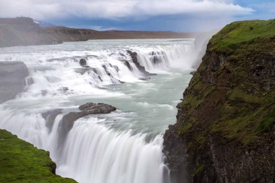 Gulfoss waterfall one of the best Iceland waterfalls