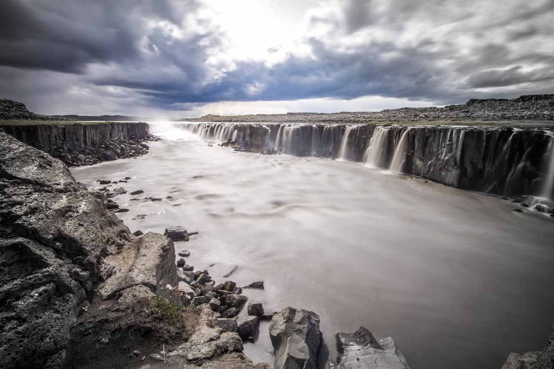 Places to visit in Iceland Selfoss Waterfall In Northern Iceland