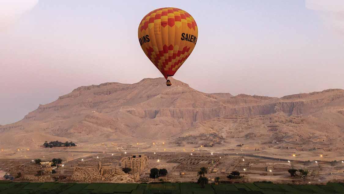 Hot Air Balloon Luxor