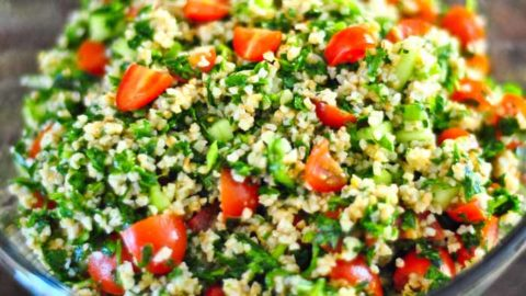 Jordanian Tabbouleh Recipe
