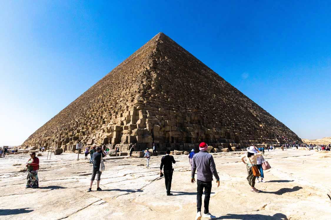Khufu Pyramid in Giza Egypt