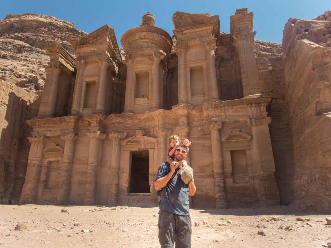 Wandering Wagars in Petra Jordan