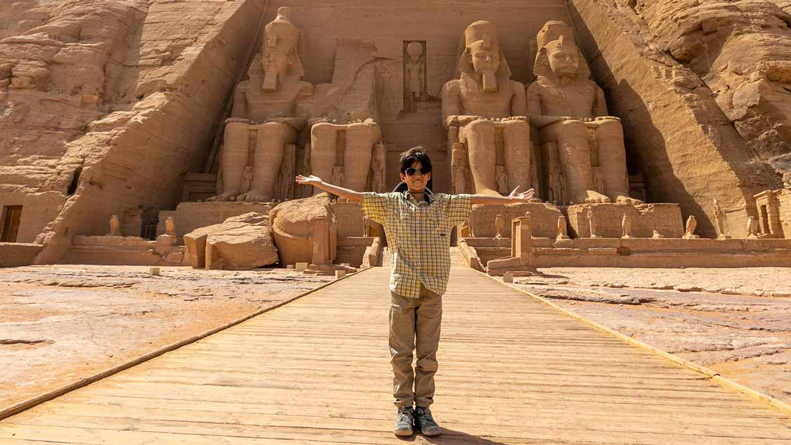 Abu Simbel with Kids