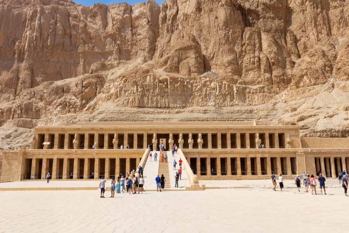 Deir al Bahri Temple of Hatshepsut Places to visit in Luxor