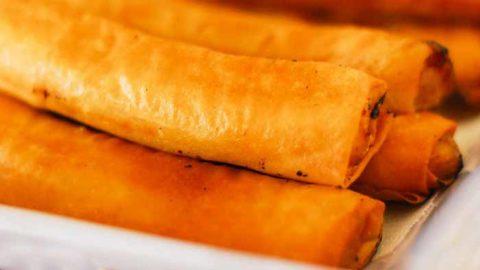 Easy Filipino turon recipe