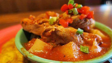 Easy Peruvian chicken stew recipe