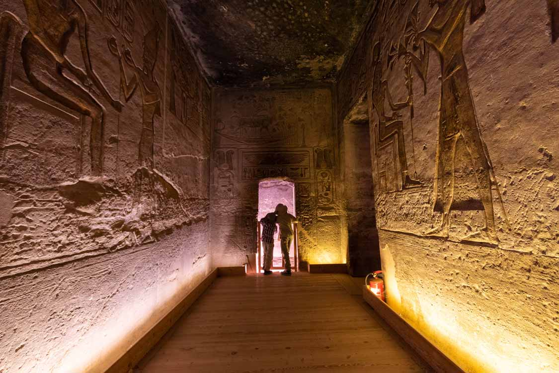 Family travel to Abu Simbel