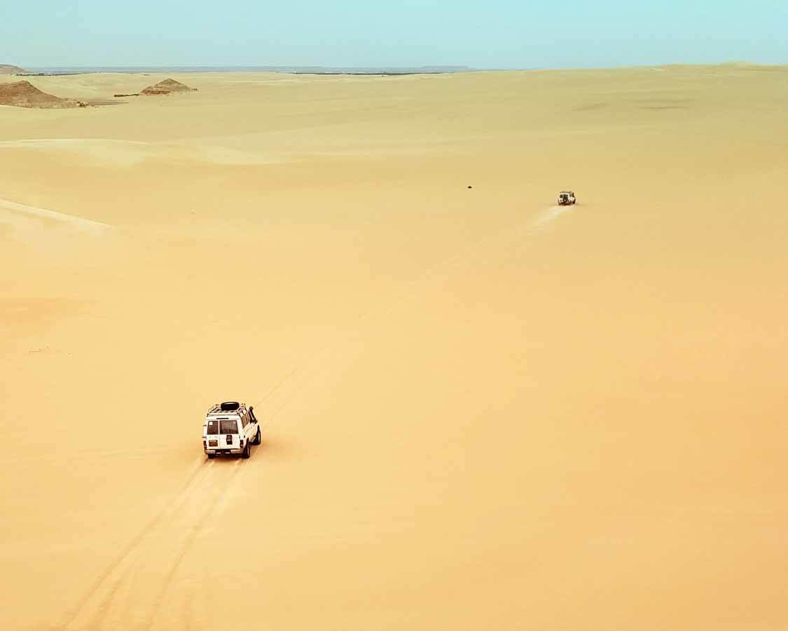 Things to do in Siwa Egypt Great Sand Sea Tour