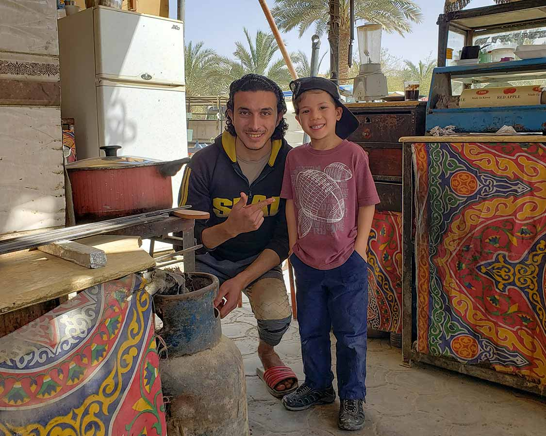 What are the people like in Siwa Egypt