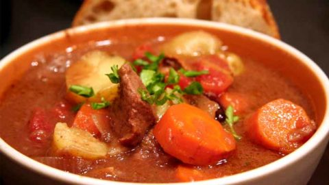 Easy and Delicious Moose Stew Recipe