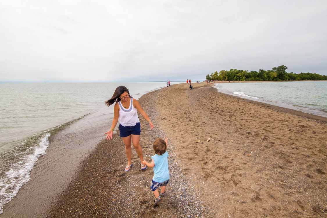 Southernmost point of Mainland Canada in Point Pelee National Park