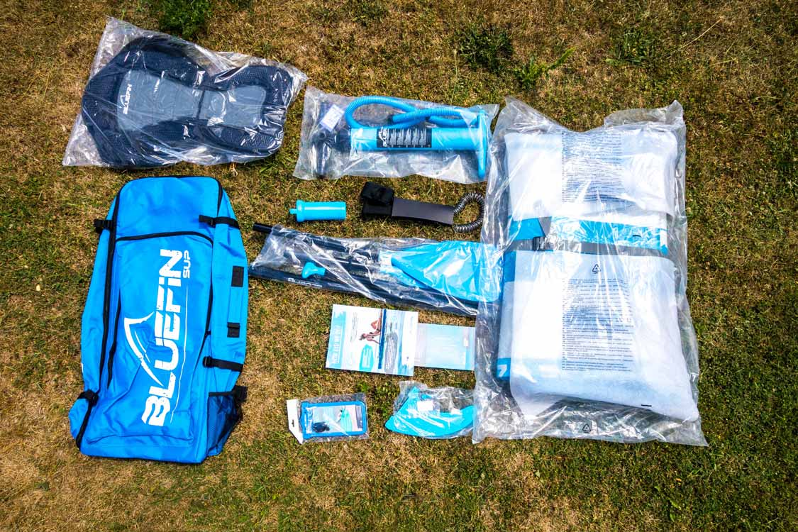 Bluefin Standup Paddleboard unboxing