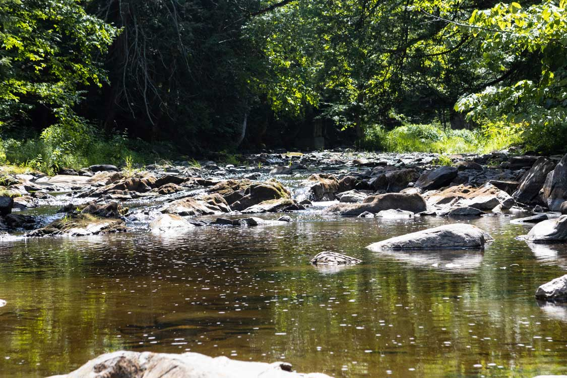 Creek at the Mill of Kintail