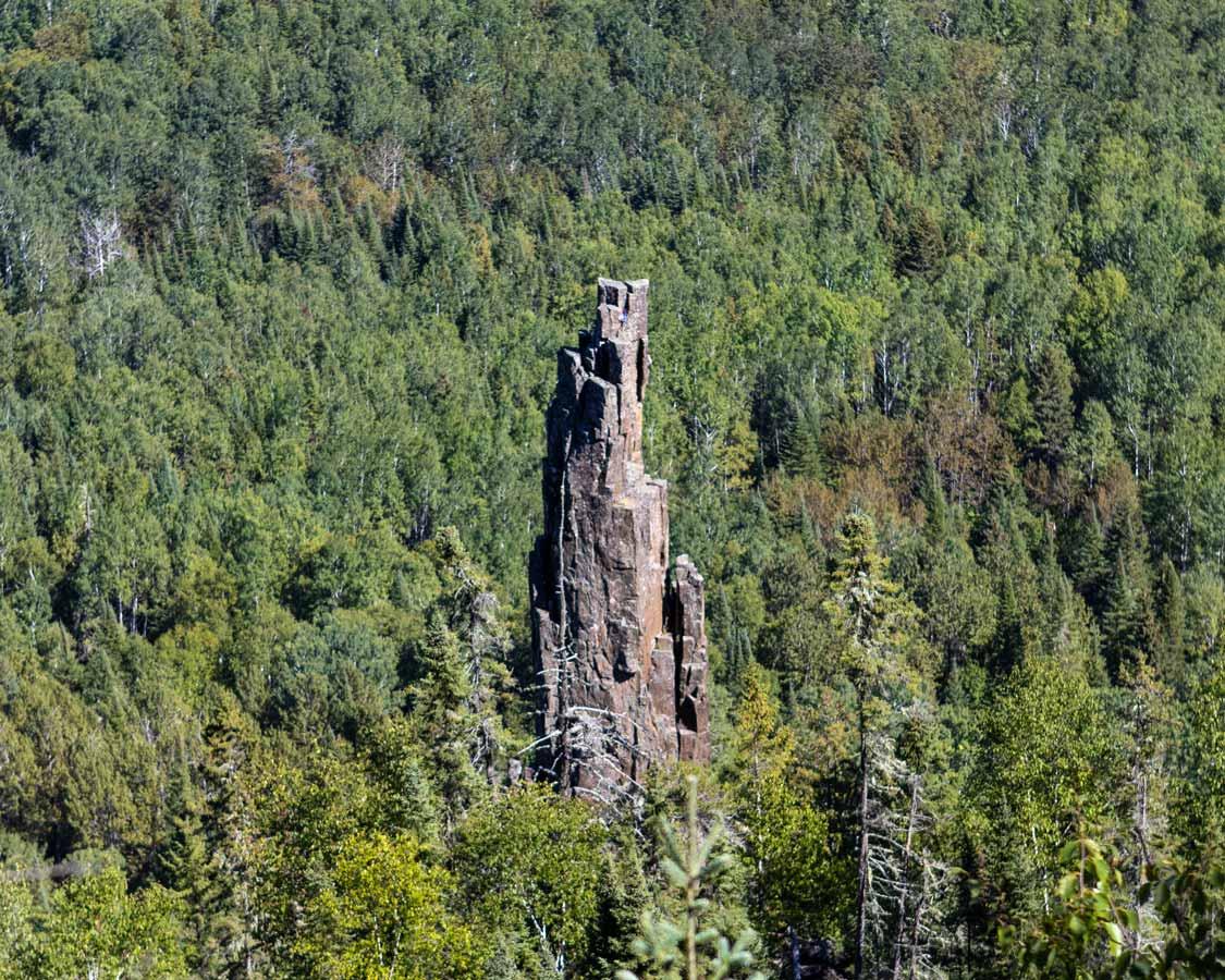 Dorion Tower near Thunder Bay