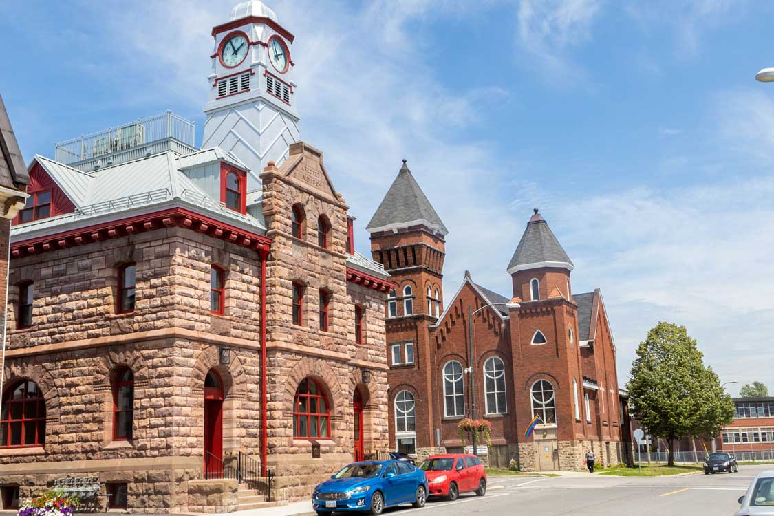 Historic downtown Smiths Falls